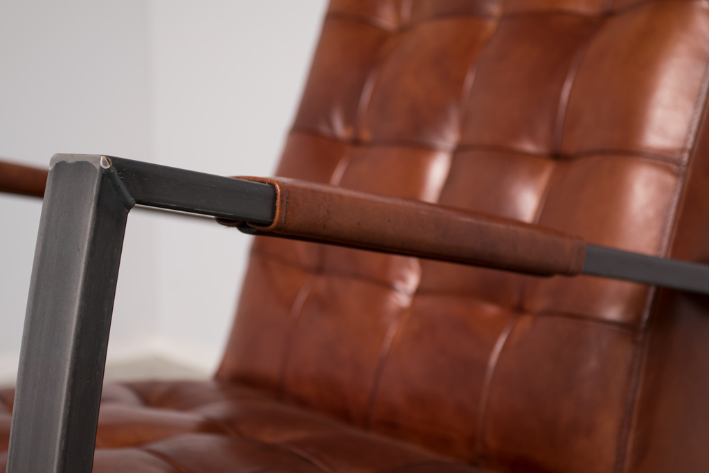 Industriële fauteuil Rock