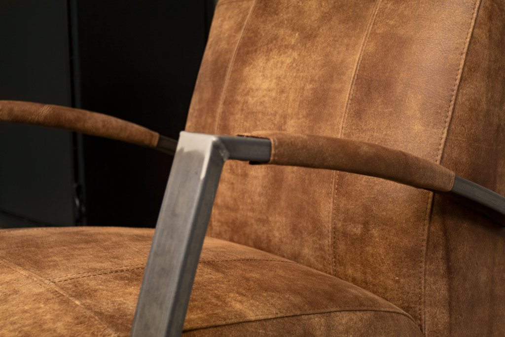 Industriële fauteuil Como