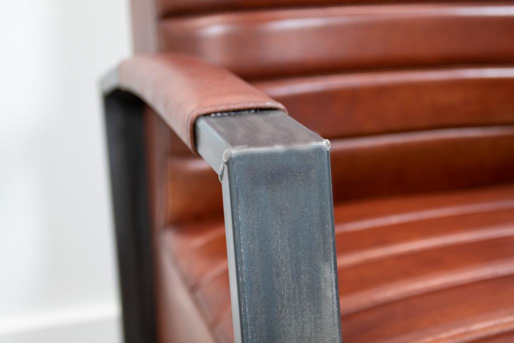 Industriële fauteuil Bari
