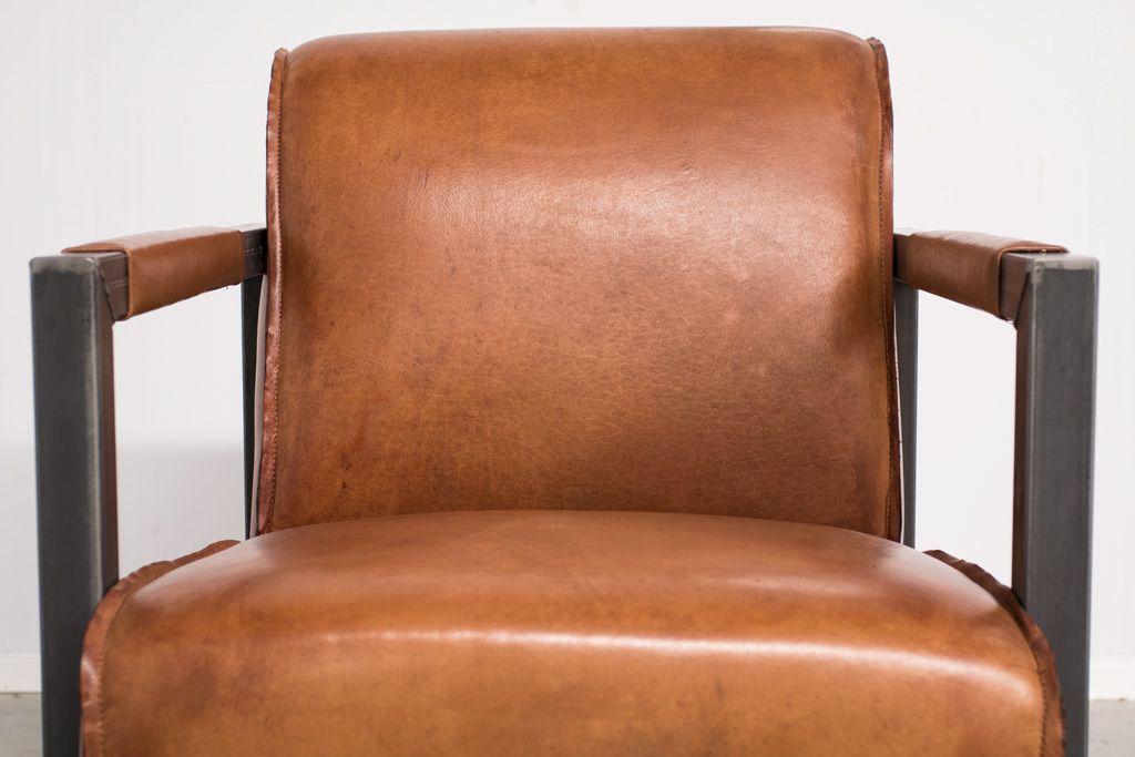 Industriële fauteuil Moco