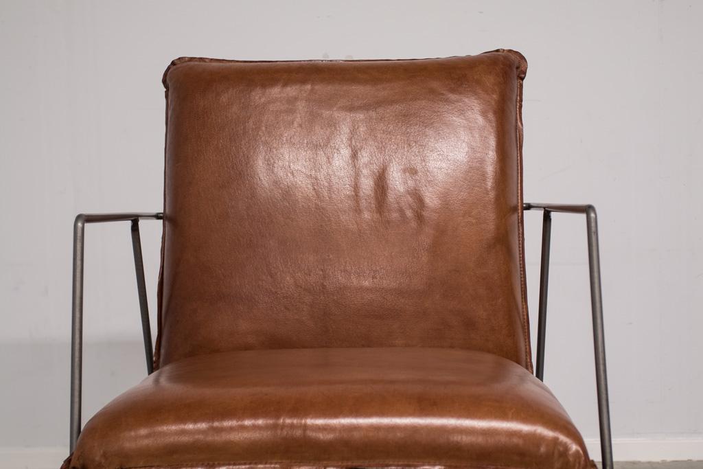 Industriële fauteuil Sjoerd