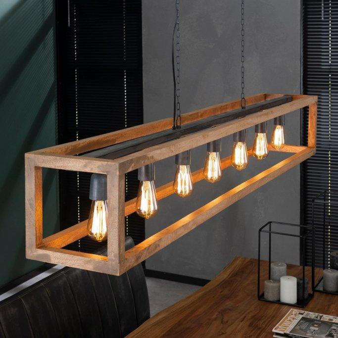 Industriële Hanglamp Fred | Oud zilver