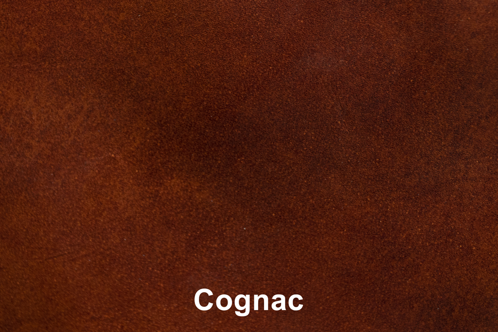 Kleurstaal Industrial Leather Cognac