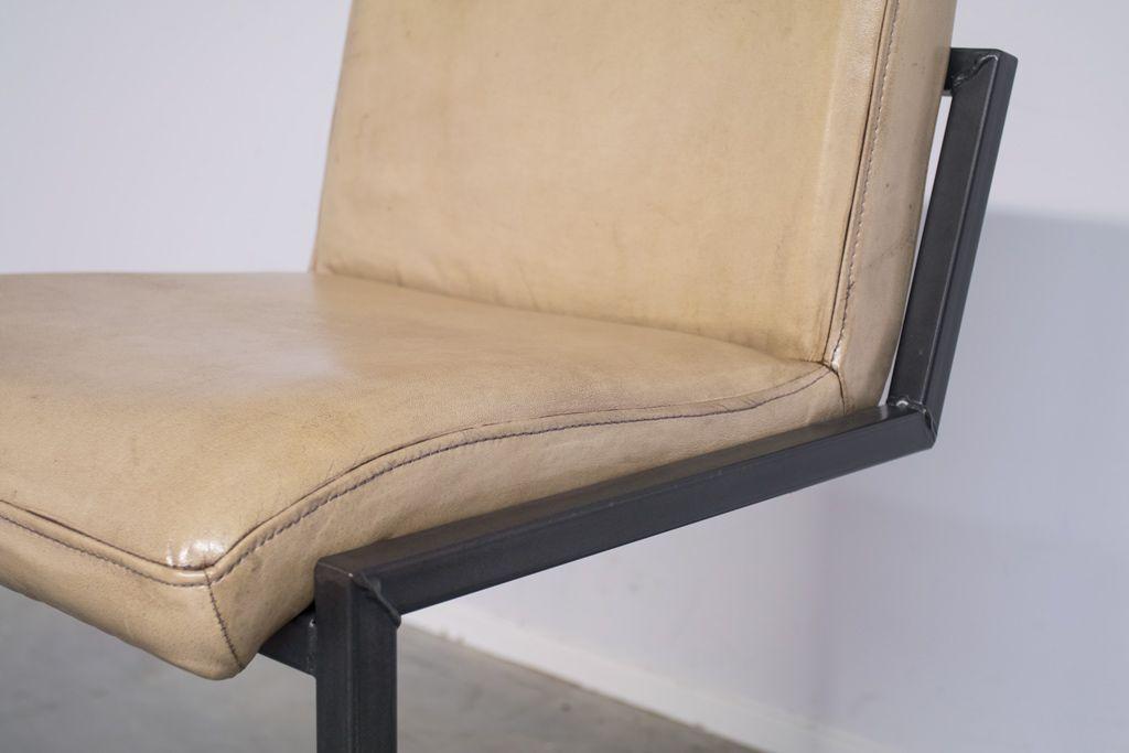 Industriële barkruk Soem | Vintage Art | laag
