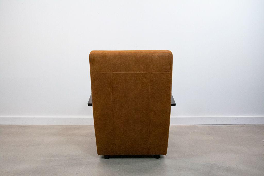Industriële stoffen fauteuil Como