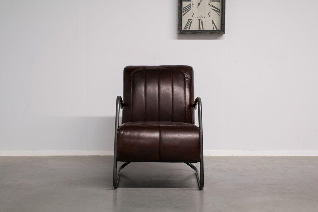 Industriële fauteuil Guuz-man   Vintage Art