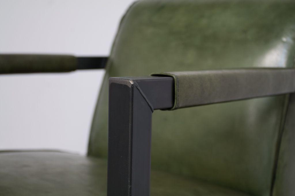 Industriële fauteuil Moco | Vintage Art