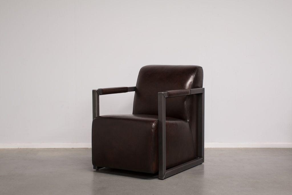Industriële fauteuil Mali | Vintage Art