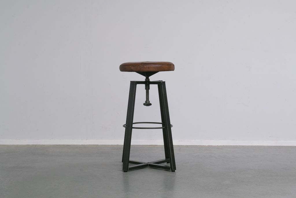 Industriële kruk Xin | Vintage Art | hoog