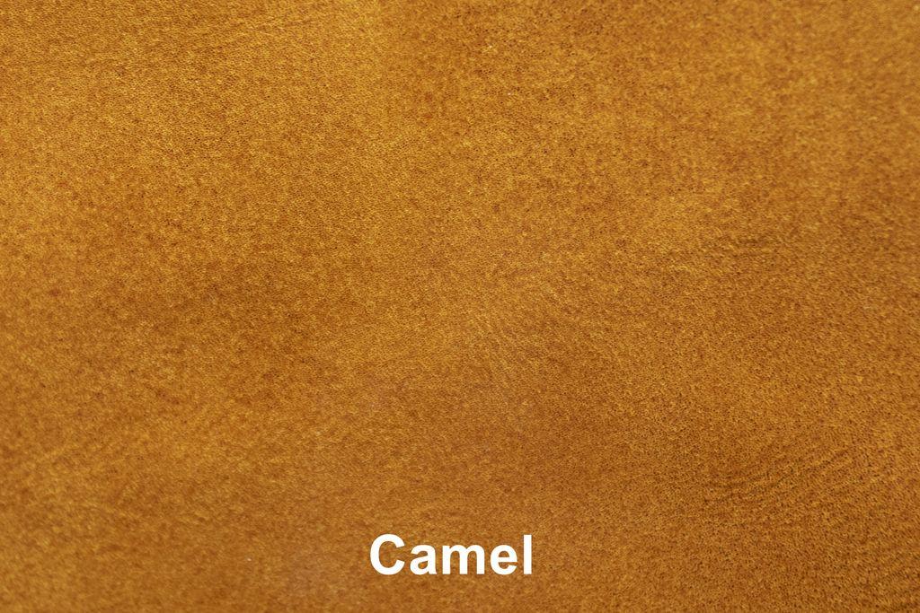 Kleurstaal Industrial Leather Camel