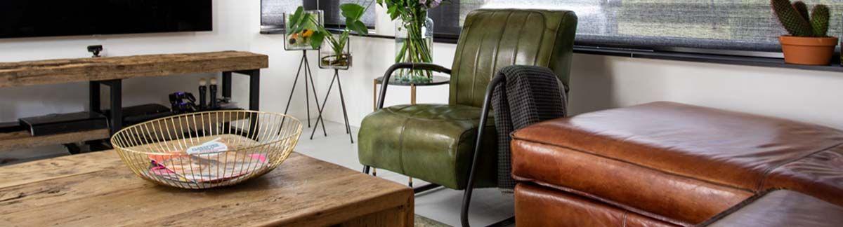 Vijf tips voor meer licht en ruimte in jouw interieur - Industriële meubels