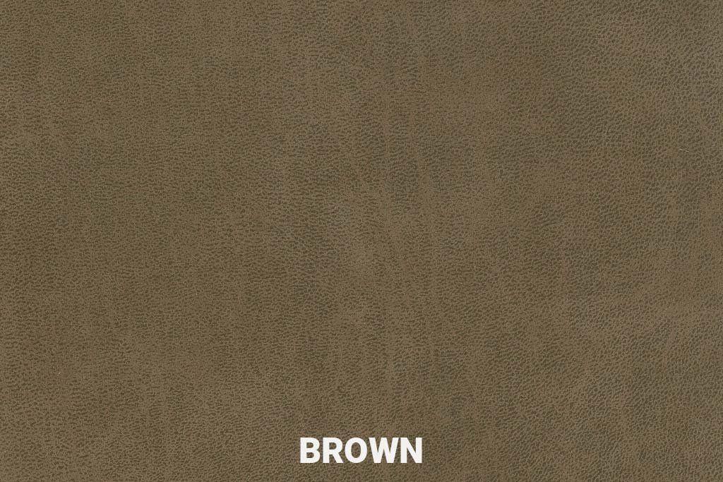 Eco-leder Bull Brown