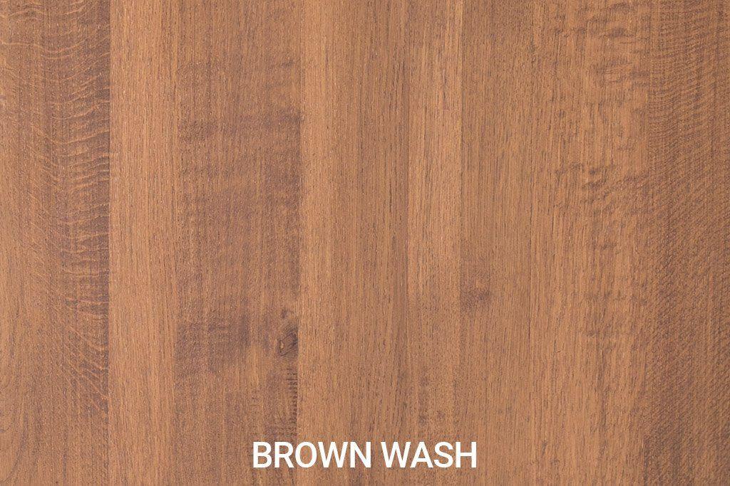 Robuust eiken Brown Wash