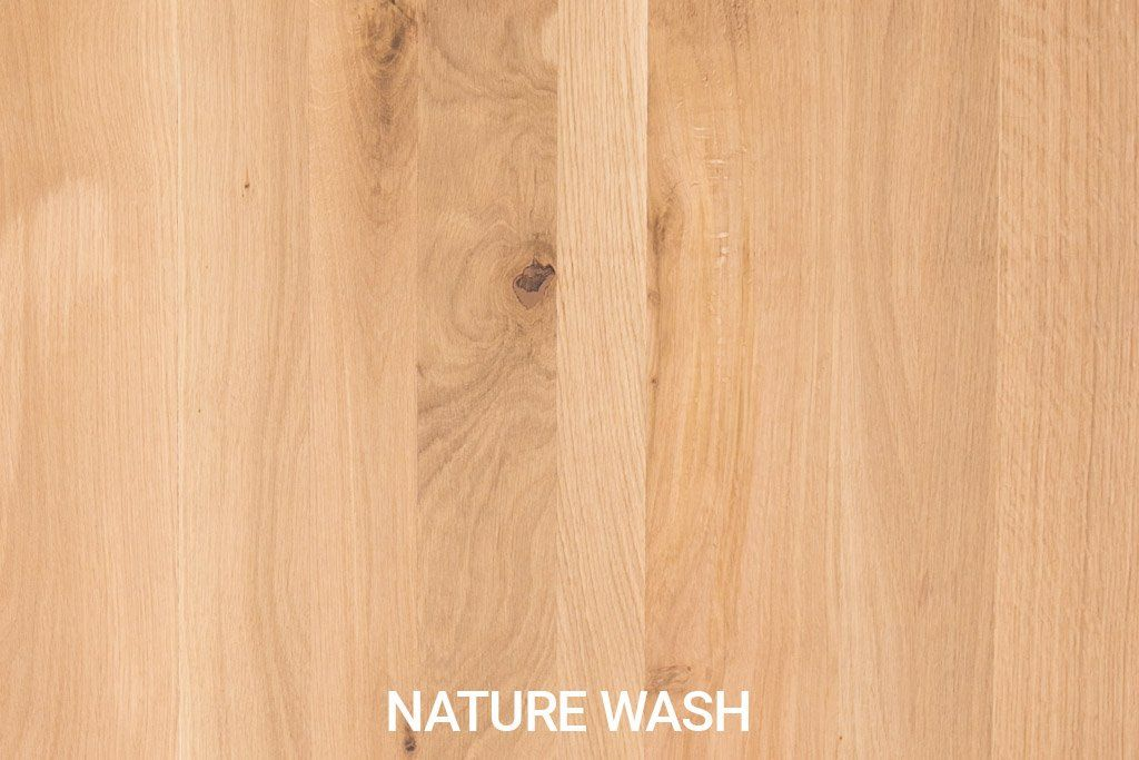 Robuust eiken Natural Wash