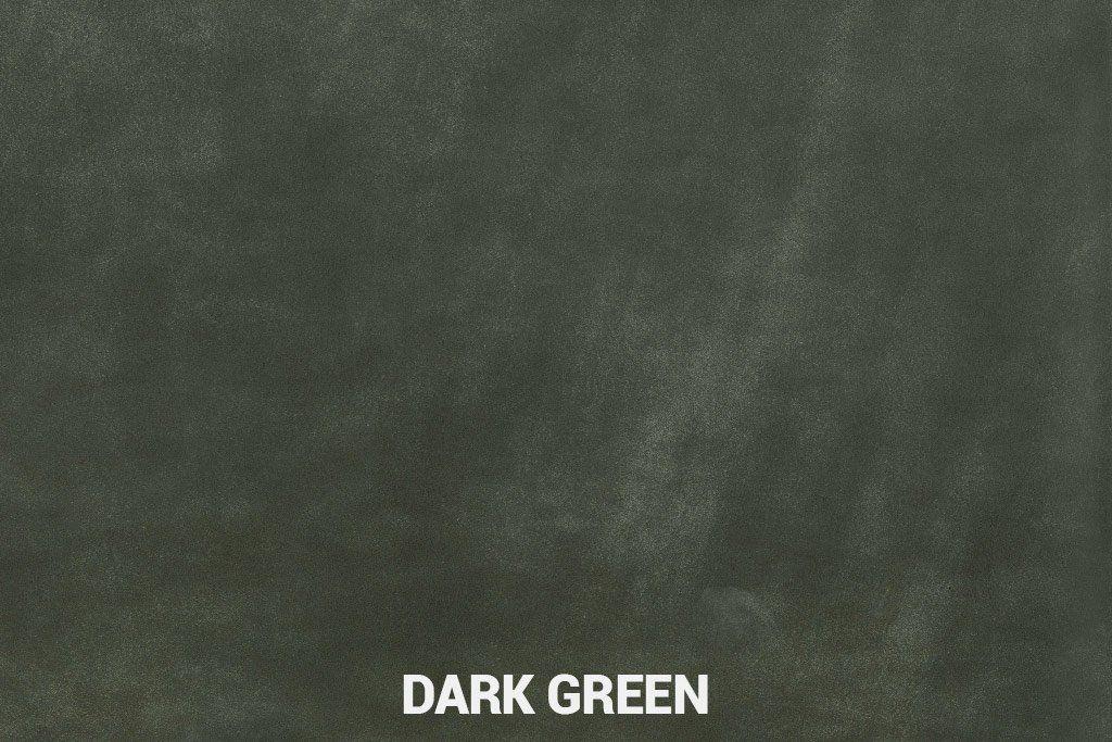 Geschuurd leer Dark Green