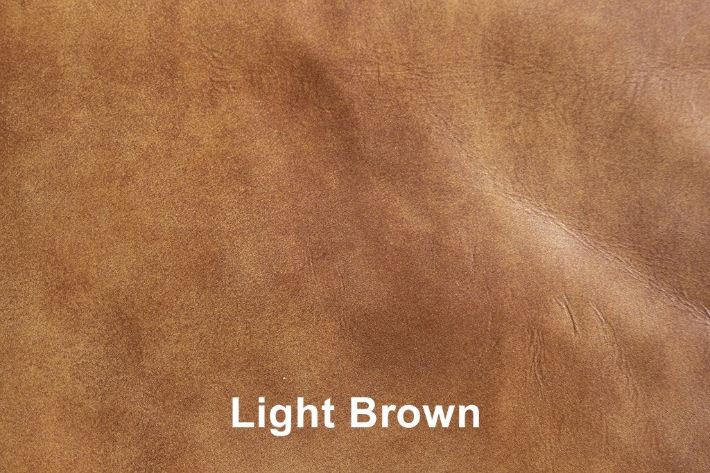 Industrial Leather Light Brown