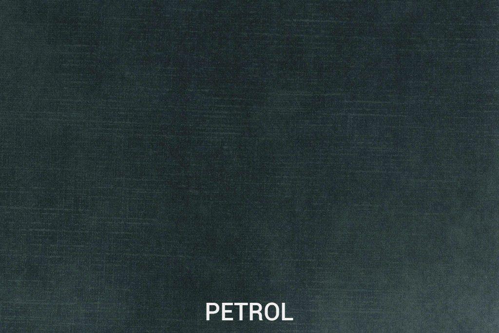Velvet stof Petrol